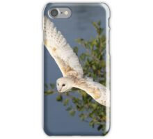 Common Barn Owl in flight iPhone Case/Skin