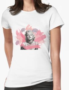 Marilyn Monroe- Celebrity watercolour  Womens Fitted T-Shirt