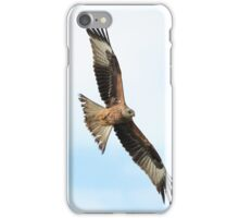Red Kite in flight iPhone Case/Skin
