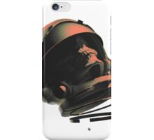 SPACE SKULL NOIR iPhone Case/Skin