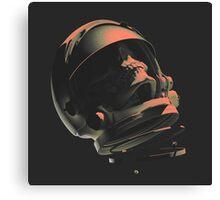 SPACE SKULL NOIR Canvas Print