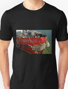 Bow Of The Chieftain, Whitby Harbour T-Shirt