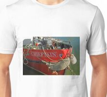 Bow Of The Chieftain, Whitby Harbour Unisex T-Shirt