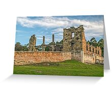 Port Arthur Historic Hospital Building Greeting Card