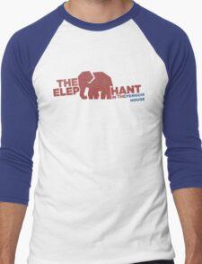 Finding Carter - elephant in the penguin house Men's Baseball ¾ T-Shirt