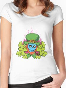 Skull #6 Women's Fitted Scoop T-Shirt