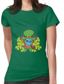 Skull #6 Womens Fitted T-Shirt