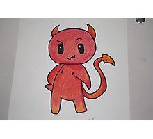 Chibi Devil Handmade Photographic Print