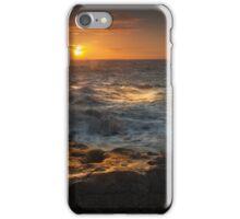 Porthcawl sunrise South Wales iPhone Case/Skin