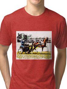Painted Horse Tri-blend T-Shirt
