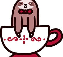 Teacup Sloth by SaradaBoru