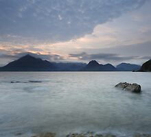 Loch Scavaig at Sunset by Maria Gaellman