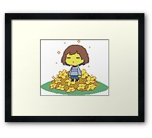 Undertale, the best game Framed Print