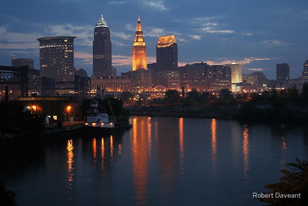 Cleveland Skyline by Robert Daveant