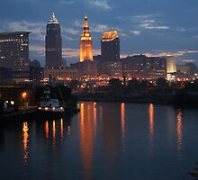 Cleveland Skyline by Robert Daveant