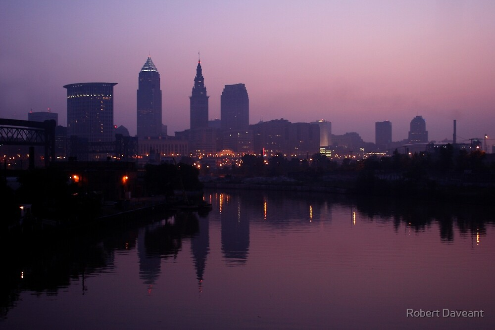 Early Morning in Cleveland by Robert Daveant
