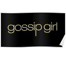 Gossip Girl Title Poster