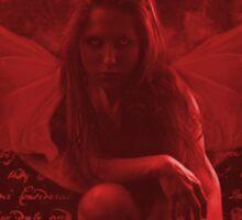 Dark Fairy 1 Red Sticker