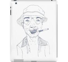 Raoul Duke, my view iPad Case/Skin