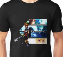 Kingdom Hearts multi-character Unisex T-Shirt