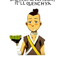 sokka x cactus juice  by berrymuffin