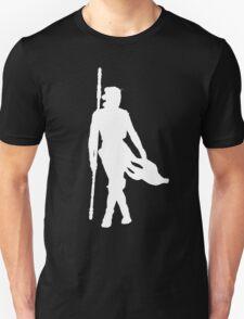 Rey Silhoutte (White) Unisex T-Shirt