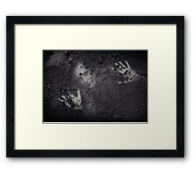 Buried Alive Framed Print