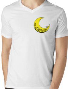 Dream Wolf Mens V-Neck T-Shirt