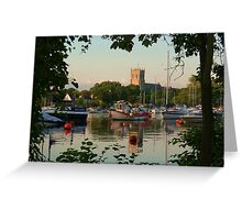 Stour Reflections Greeting Card