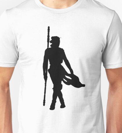 Rey Silhoutte (Black) Unisex T-Shirt