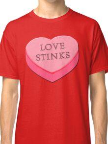 LOVE STINKS Fun Anti Valentine Classic T-Shirt