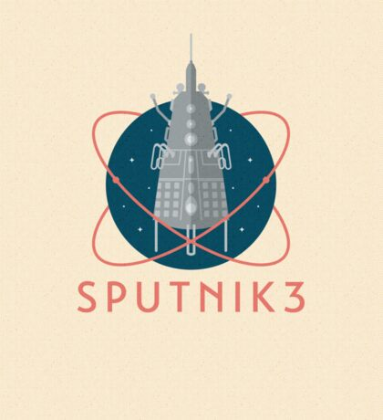 Sputnik 3 Sticker