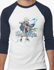 I Main Corrin (Male) - Super Smash Bros Men's Baseball ¾ T-Shirt