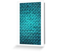 Knit Texture 01 Greeting Card