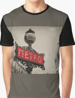 Metro  Graphic T-Shirt