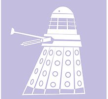 Dalek- Doctor who  Photographic Print