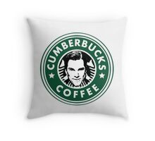 Cumberbucks Coffee Throw Pillow