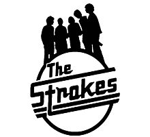 The Strokes Photographic Print