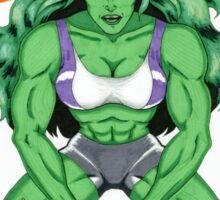 She-Hulk: Smash Patriarchy!  Sticker