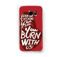 Hunger Games Quote Samsung Galaxy Case/Skin