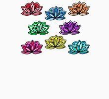 happy little lotus flowers Unisex T-Shirt