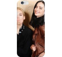 Rachael Taylor and Krysten Ritter for Jessica Jones photoshoot iPhone Case/Skin