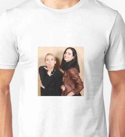Rachael Taylor and Krysten Ritter for Jessica Jones photoshoot Unisex T-Shirt