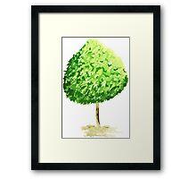 Simple Tree Framed Print