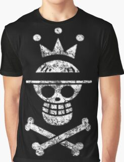 Straw Hat King Logo Graphic T-Shirt