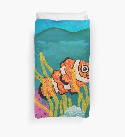Clownfish Duvet  Duvet Cover