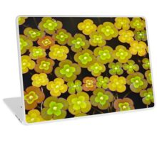 Little green lily pads Laptop Skin