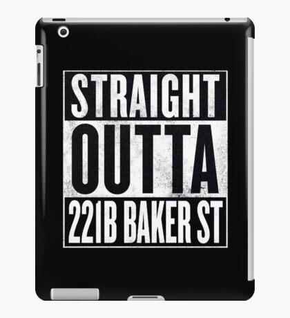 Straight Outta 221B Baker St iPad Case/Skin