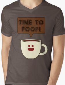 Time to poop Mens V-Neck T-Shirt