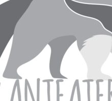 Crazy Anteater Lady  Sticker